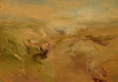 deslaves, olio su tela 230 x 150cm.